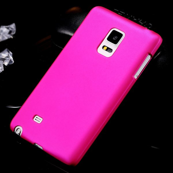 For Note Edge Back Case Lubricating Smooth Hard Pc Cover For Samsu 32280495896-5-rose