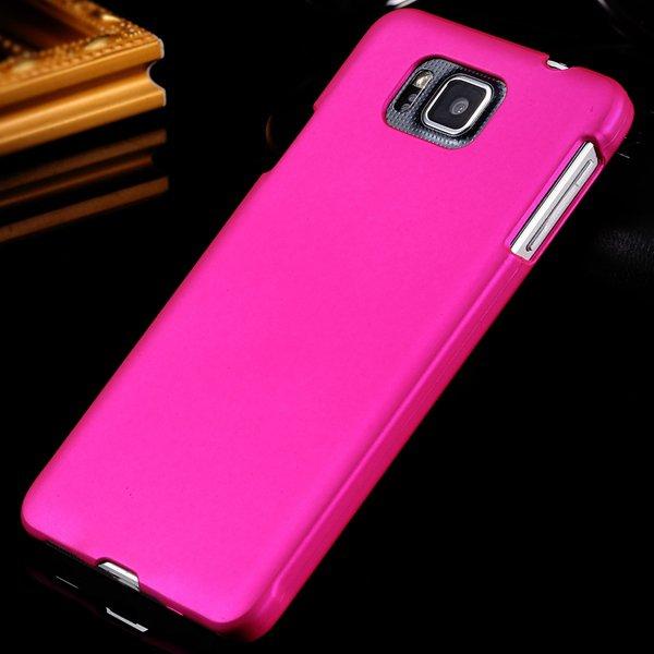 For Alpha G850 Back Case Lubricating Mat Pc Hard Cover For Samsung 32281540556-4-rose