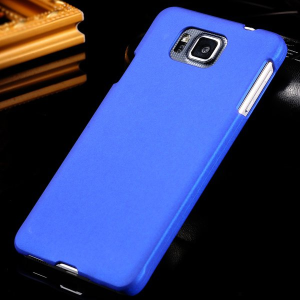 For Alpha G850 Back Case Lubricating Mat Pc Hard Cover For Samsung 32281540556-5-blue