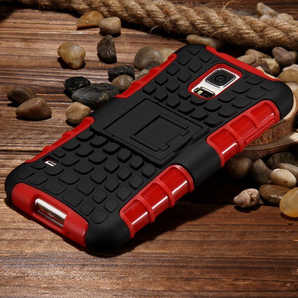 S5 Heavy Duty Case Armor Cover For Samsung Galaxy S5 Sv I9600 G900 32273877350-4-red