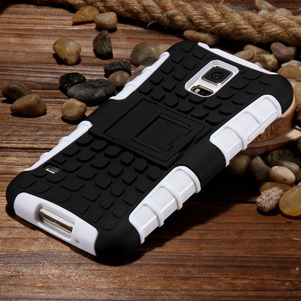 S5 Heavy Duty Case Armor Cover For Samsung Galaxy S5 Sv I9600 G900 32273877350-8-white