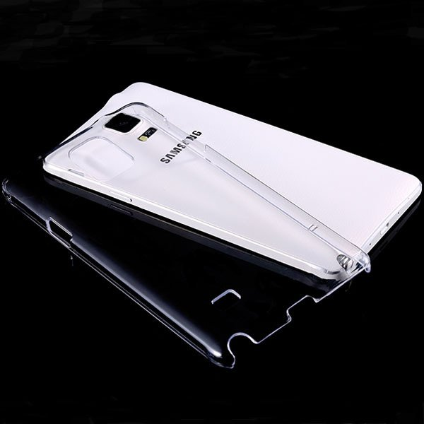 For Note 4 Clear Case Crystal Transparent Capa Plastic Back Cover  32288867392-1-clear