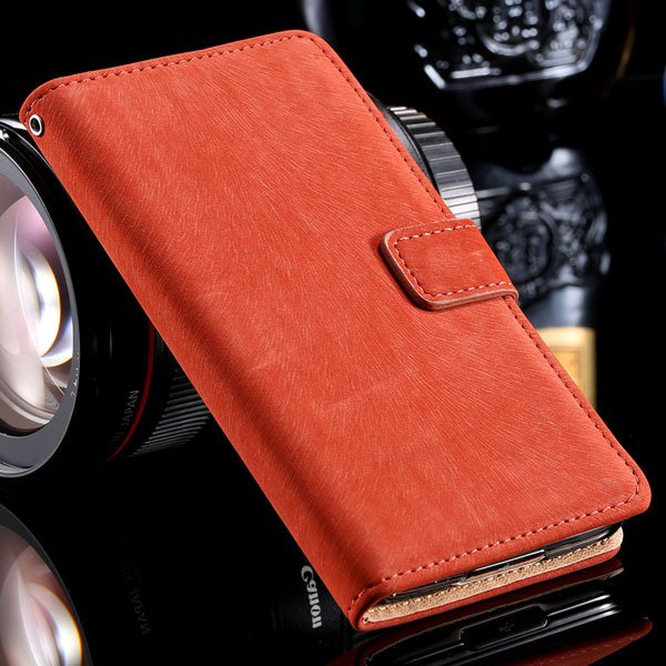 S5 Flip Case Premium Full Cover For Samsung Galaxy S5 Sv I9600 Sha 32261153054-1-red