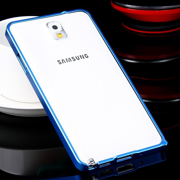 Shiny Arrival 0.7Mm Ultra Thin Metal Frame Case For Samsung Galaxy 32247624583-4-deep blue