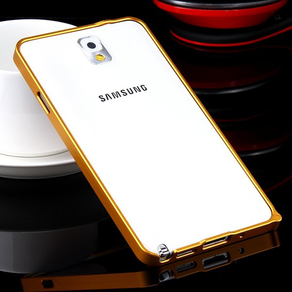 Shiny Arrival 0.7Mm Ultra Thin Metal Frame Case For Samsung Galaxy 32247624583-8-gold