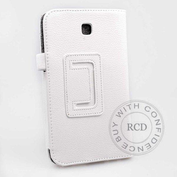 Flip Stand Full Case For Samsung Galaxy Tab 3 P3200 7.0 Elegant Pu 1138274901-1-white