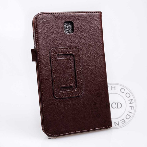Flip Stand Full Case For Samsung Galaxy Tab 3 P3200 7.0 Elegant Pu 1138274901-6-brown