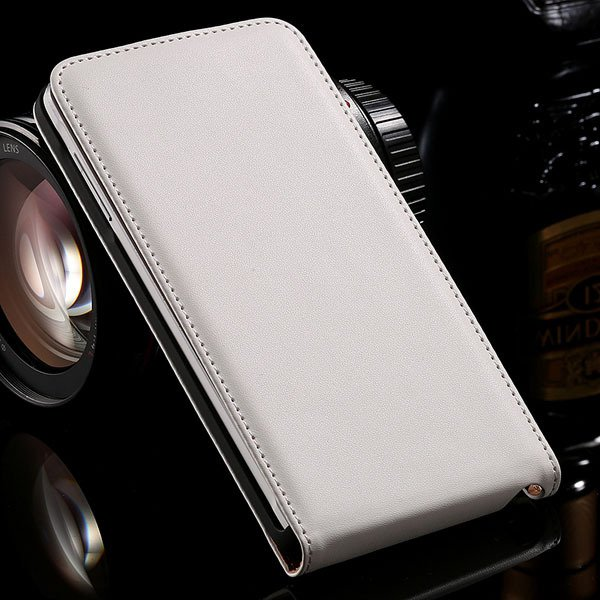 For Note 4 Genuine Leather Case Flip Cover For Samsung Galaxy Note 32269062618-2-white