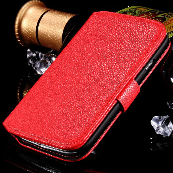 S3 Flip Wallet Case Pu Leather Cover For Samsung Galaxy S3 S Iii I 1064100504-2-red