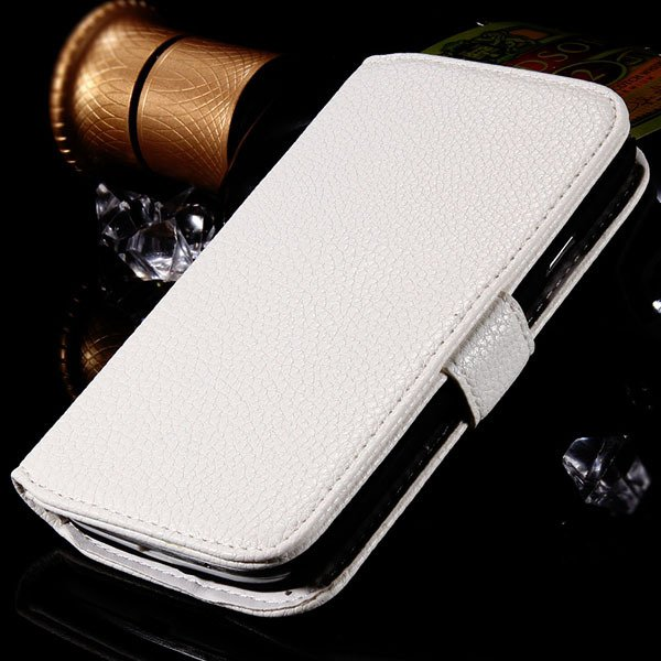 S3 Flip Wallet Case Pu Leather Cover For Samsung Galaxy S3 S Iii I 1064100504-4-white