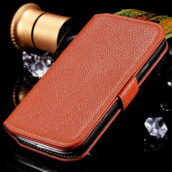 S3 Flip Wallet Case Pu Leather Cover For Samsung Galaxy S3 S Iii I 1064100504-5-brown