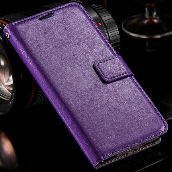 For Galaxy A7 Leather Case Full Protect Cover For Samsung Galaxy A 32303228550-6-purple
