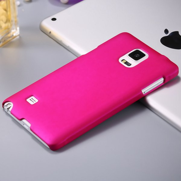 Note 4 Luxury Back Case Lubricating Smooth Hard Pc Cover For Samsu 32282032233-5-rose
