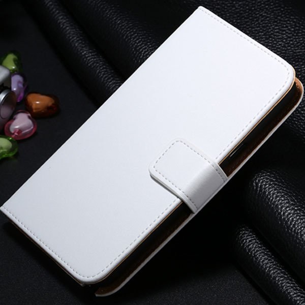 For Note 2 Genuine Leather Case Flip Cover For Samsung Galaxy Note 1772307258-2-white