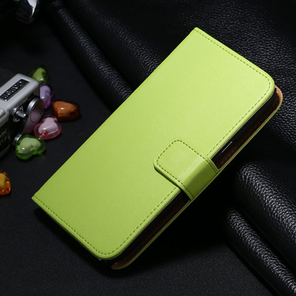 For Note 2 Genuine Leather Case Flip Cover For Samsung Galaxy Note 1772307258-4-green