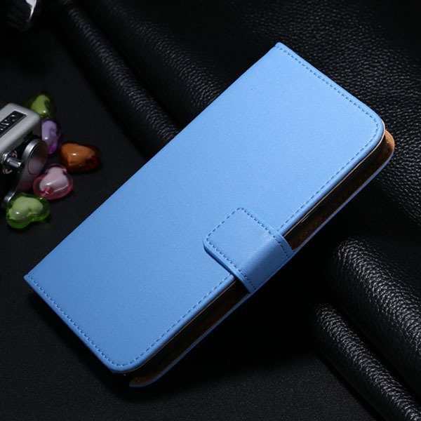 For Note 2 Genuine Leather Case Flip Cover For Samsung Galaxy Note 1772307258-8-blue