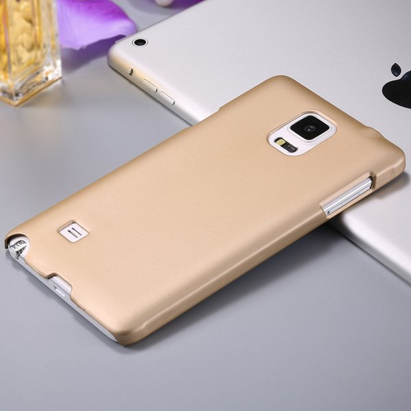 Note 4 Ultra Slim Case Mat Lubricating Smooth Back Cover For Samsu 32280965420-3-gold
