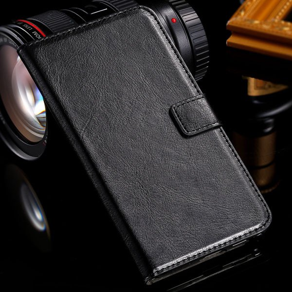 Note 3 Luxury Pu Leather Case Pouch Wallet Book Cover For Samsung  1771068570-1-black