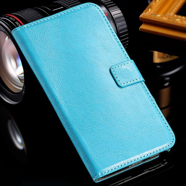 Note 3 Luxury Pu Leather Case Pouch Wallet Book Cover For Samsung  1771068570-3-blue