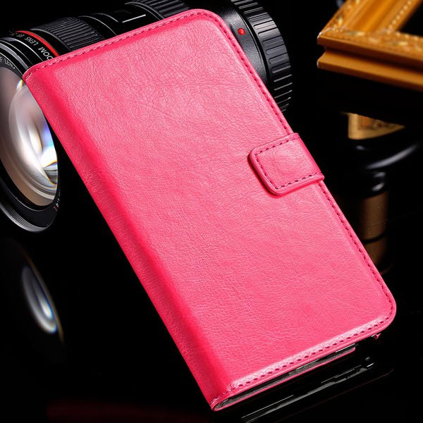 Note 3 Luxury Pu Leather Case Pouch Wallet Book Cover For Samsung  1771068570-5-rose