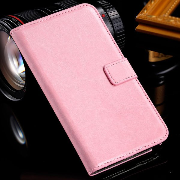 Note 3 Luxury Pu Leather Case Pouch Wallet Book Cover For Samsung  1771068570-7-pink