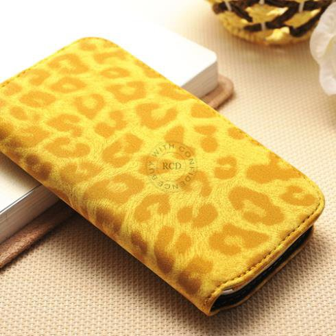 Photo Holder Case For Samsung Galaxy S3 I9300 Pouch Wallet Case Pu 1064181454-4-Yellow