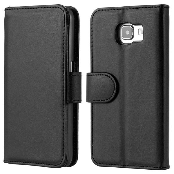 S6 Luxury Pu Leather Case Photo Frame Wallet Cover For Samsung Gal 32299636698-1-black