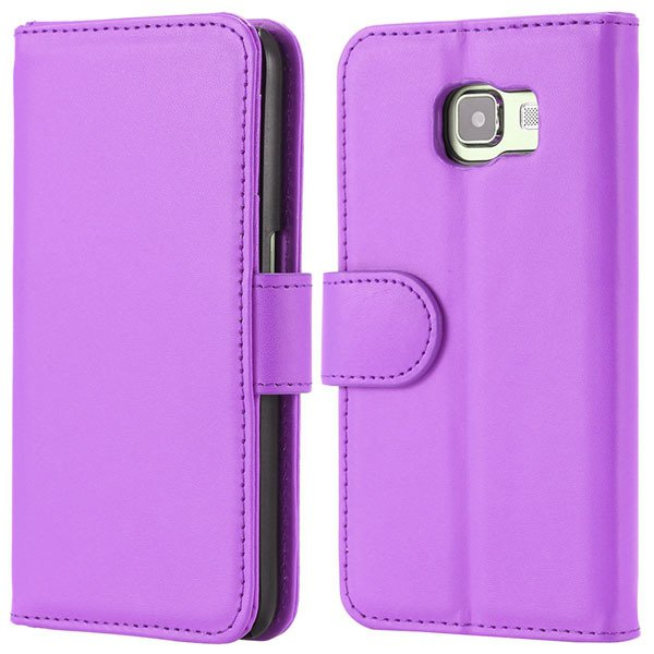 S6 Flip Pu Leather Cover Luxury Full Protect Skin Case For Samsung 32299079566-10-purple