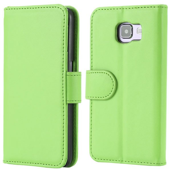 S6 Wallet Pu Leather Case Photo Display Flip Cover For Samsung Gal 32299664259-7-green