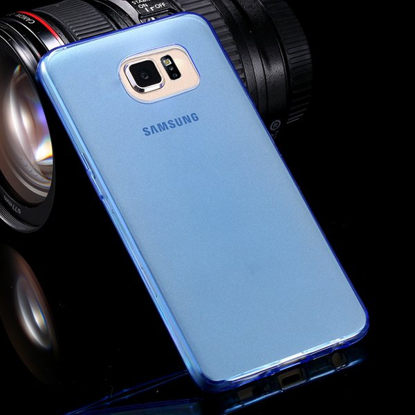 S6 Tpu Clear Case 0.3Mm Super Thin Soft Cover For Samsung Galaxy S 32298150102-2-blue