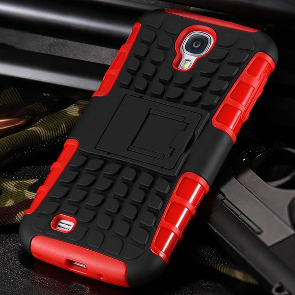 S4 Armor Heavy Duty Hard Cover Case For Samsung Galaxy S4 Siv I950 32303818869-3-red