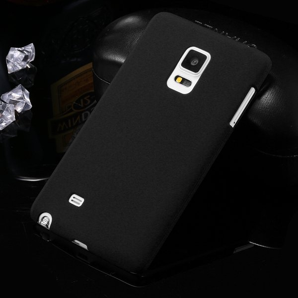 For Note Edge Slim Case Lubricating Mat Back Cover For Samsung Gal 32280535742-1-black