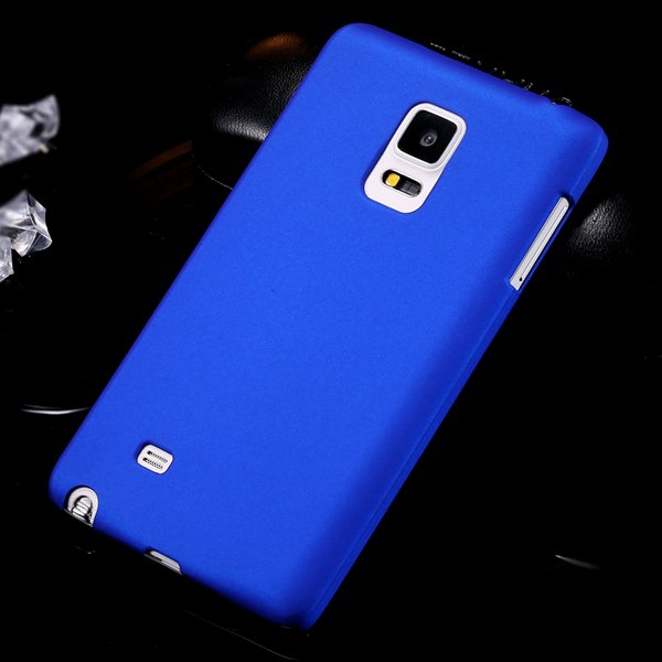 For Note Edge Slim Case Lubricating Mat Back Cover For Samsung Gal 32280535742-3-blue
