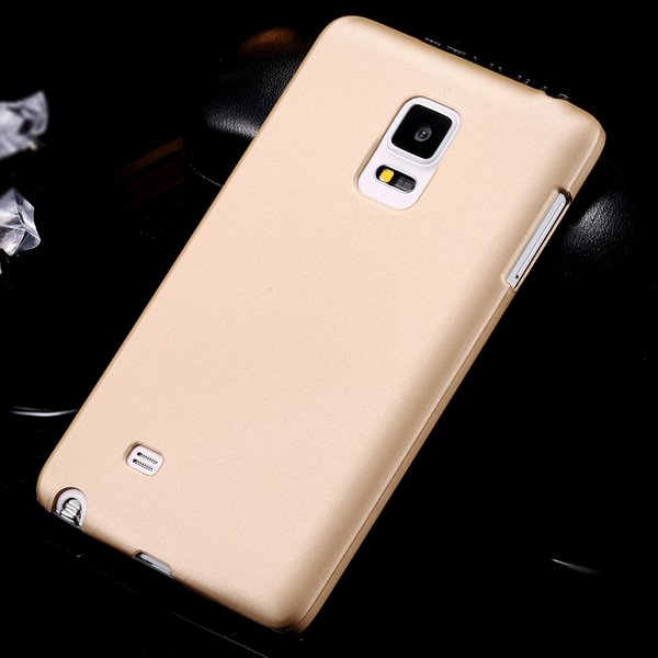 For Note Edge Slim Case Lubricating Mat Back Cover For Samsung Gal 32280535742-4-gold