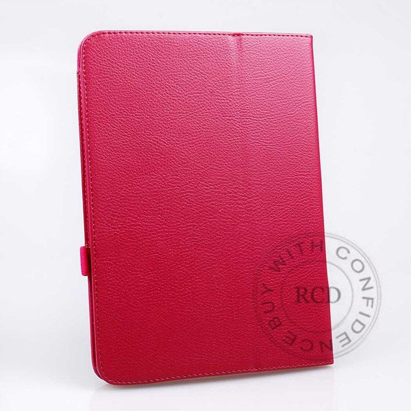 For Samsung Tab 3 Pu Leather Case Flip Wallet Cover Full Body Prot 1138274905-6-Clear