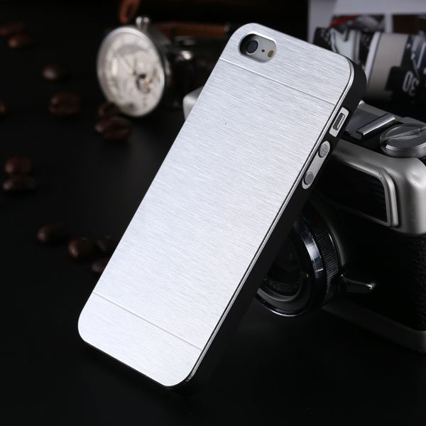 5S Aluminum Case Deluxe Gold Metal Brush Cover For Iphone 5 5S 5G  1810132892-2-silver for 5s