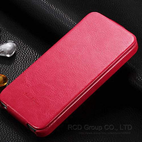 4S Pu Leather Cover Premium Flip Case For Iphone 4 4S 4G Full Prot 1545139938-4-Rose