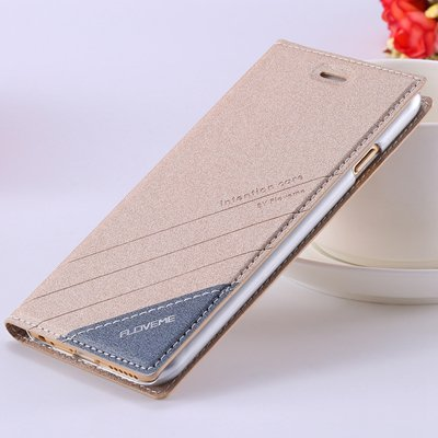 5S Magnetic Flip Case Original Pu Leather Cover For Iphone 5 5S 5G 32267505715-5-gold