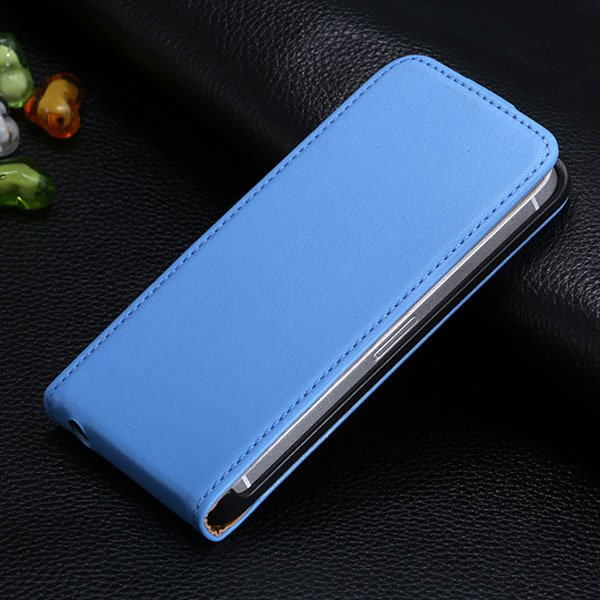 5S Flip Genuine Leather Case For Iphone 5 5S 5G Full Protective Sk 1793744595-4-light blue