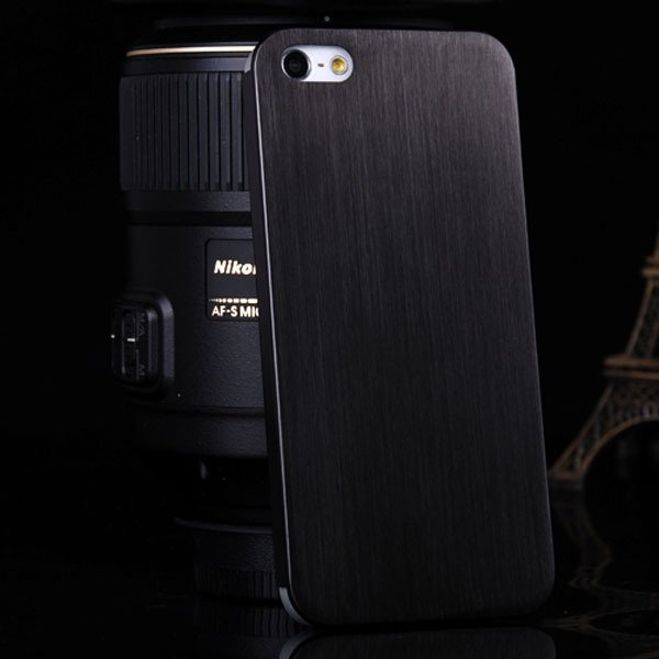 Top Quality 0.3 Mm Ultrathin Aluminum Case For Iphone 5 5S 5G Brus 1866356800-1-black