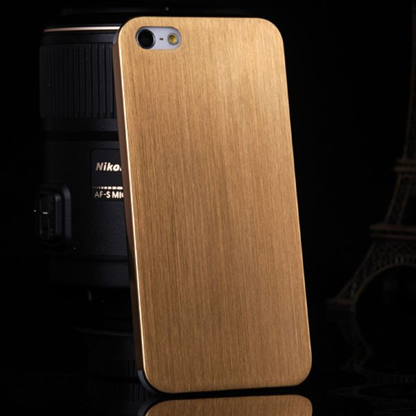Top Quality 0.3 Mm Ultrathin Aluminum Case For Iphone 5 5S 5G Brus 1866356800-2-gold