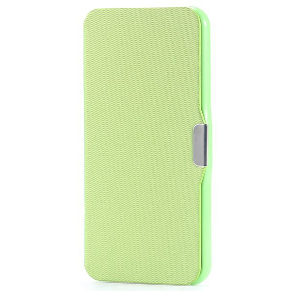 Ultra Thin Slim Pu Leather Full Case For Iphone 5C Cover With Magn 32240335248-5-green