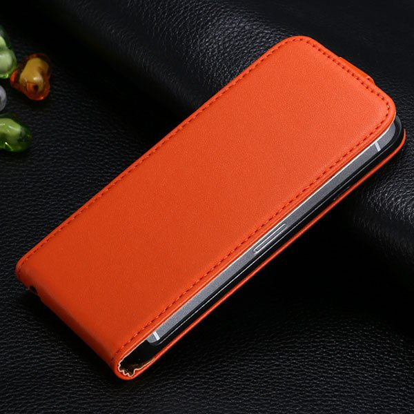 5S Genuine Leather Case For Iphone 5 5S 5G Full Protective Phone S 1793767079-2-orange