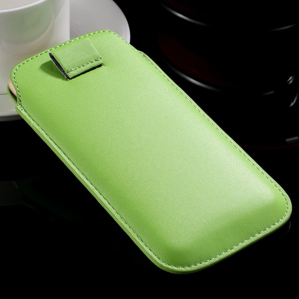 5S Universal Phone Case For Iphone 5 5S 5G 4 4S 4G Pu Leather Cove 32268093589-5-green