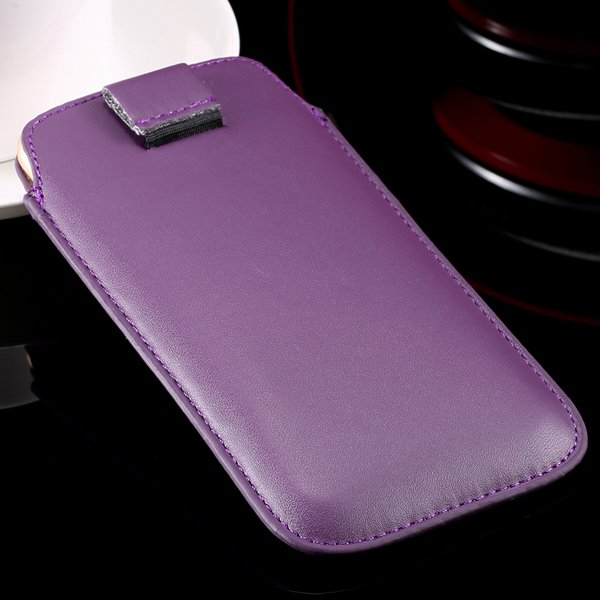 5S Universal Phone Case For Iphone 5 5S 5G 4 4S 4G Pu Leather Cove 32268093589-6-purple