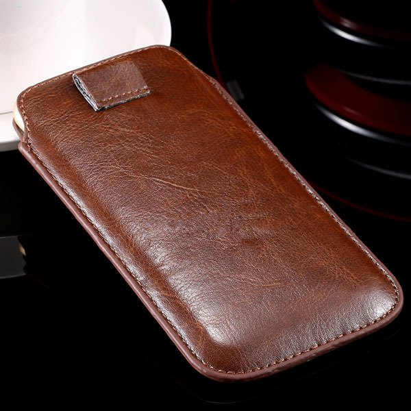5S Universal Phone Case For Iphone 5 5S 5G 4 4S 4G Pu Leather Cove 32268093589-8-brown