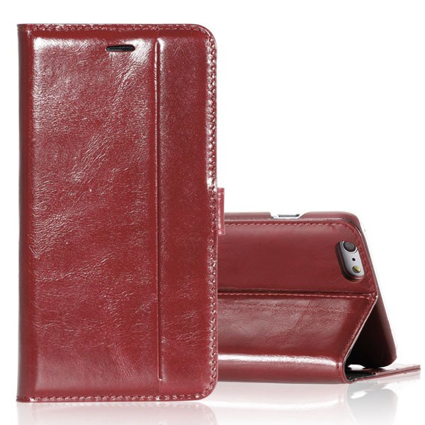 I5 Genuine Leather Case Flip Cover For Iphone 5 5S 5G Full Protect 32271073553-5-brown