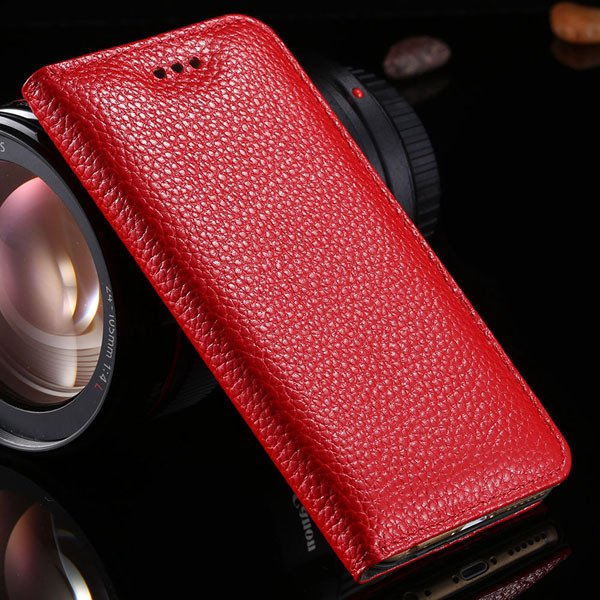 5S Genuine Leather Case For Iphone 5 5S 5G Full Protective Cell Ph 32269665739-3-red