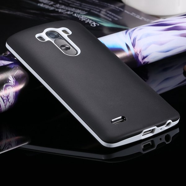 G3 Soft Tpu Combo Case For Lg G3 Cover For D858 D859 Plastic Back  2024340846-1-black