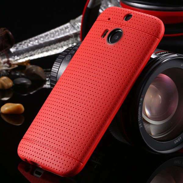 M8 Case Slim Phone Cover For Htc One M8 Back Phone Shell Perfectly 1991600215-6-red